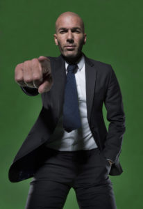 Zinedine Zidane for Adidas