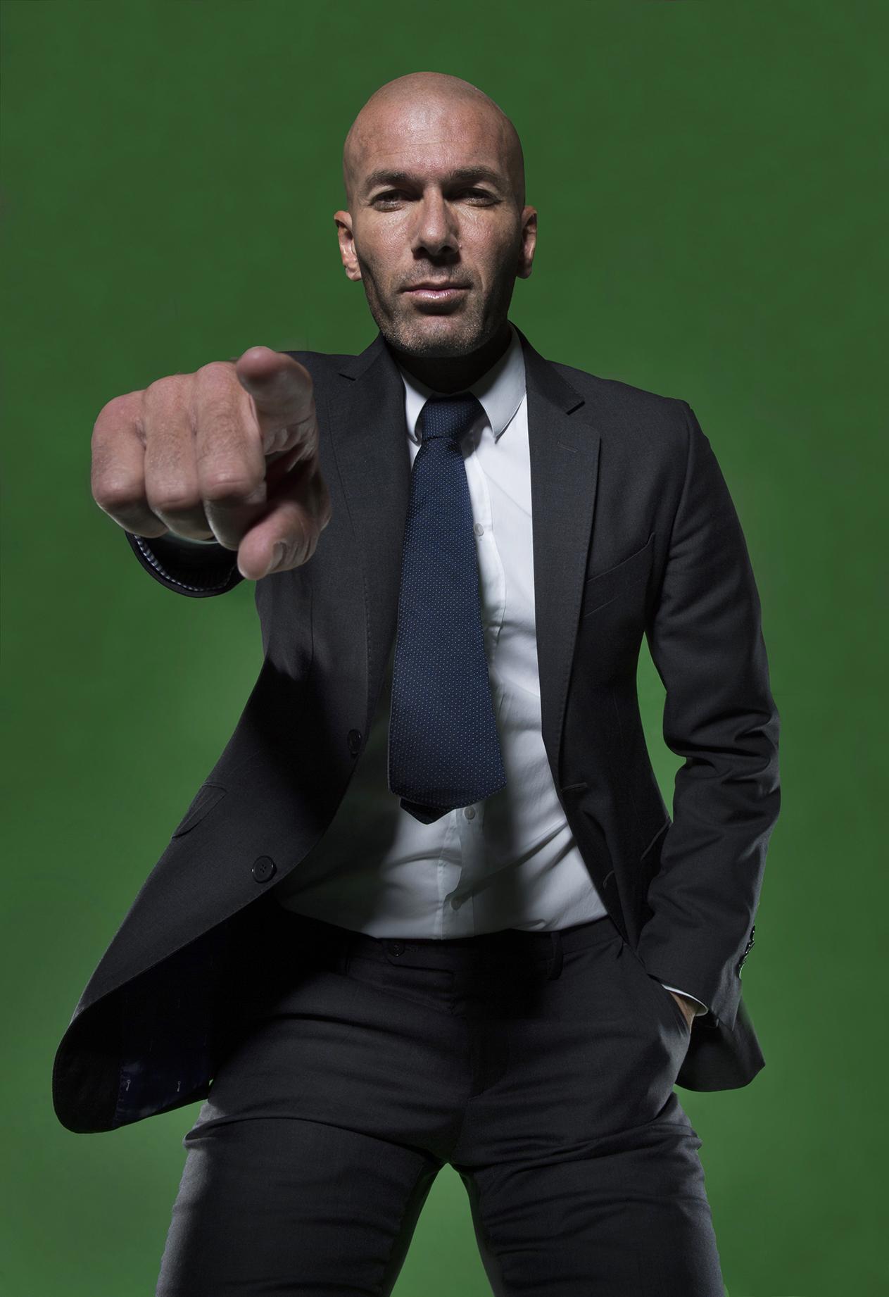 Zinedine Zidane for Adidas