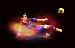 Lionel Messi for EA Sports