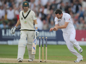 Jimmy Anderson and Michael Clarke for Investec