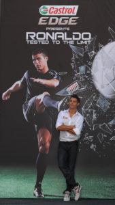 Cristiano Ronaldo for Castrol