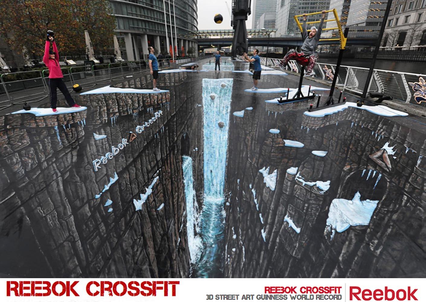 3D Art for Reebok Crossfit