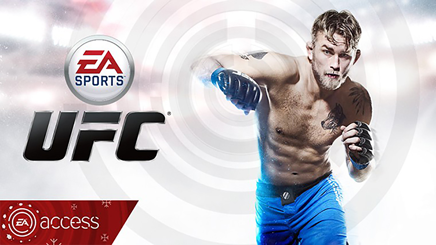 Alexander Gustafsson for EA Sports