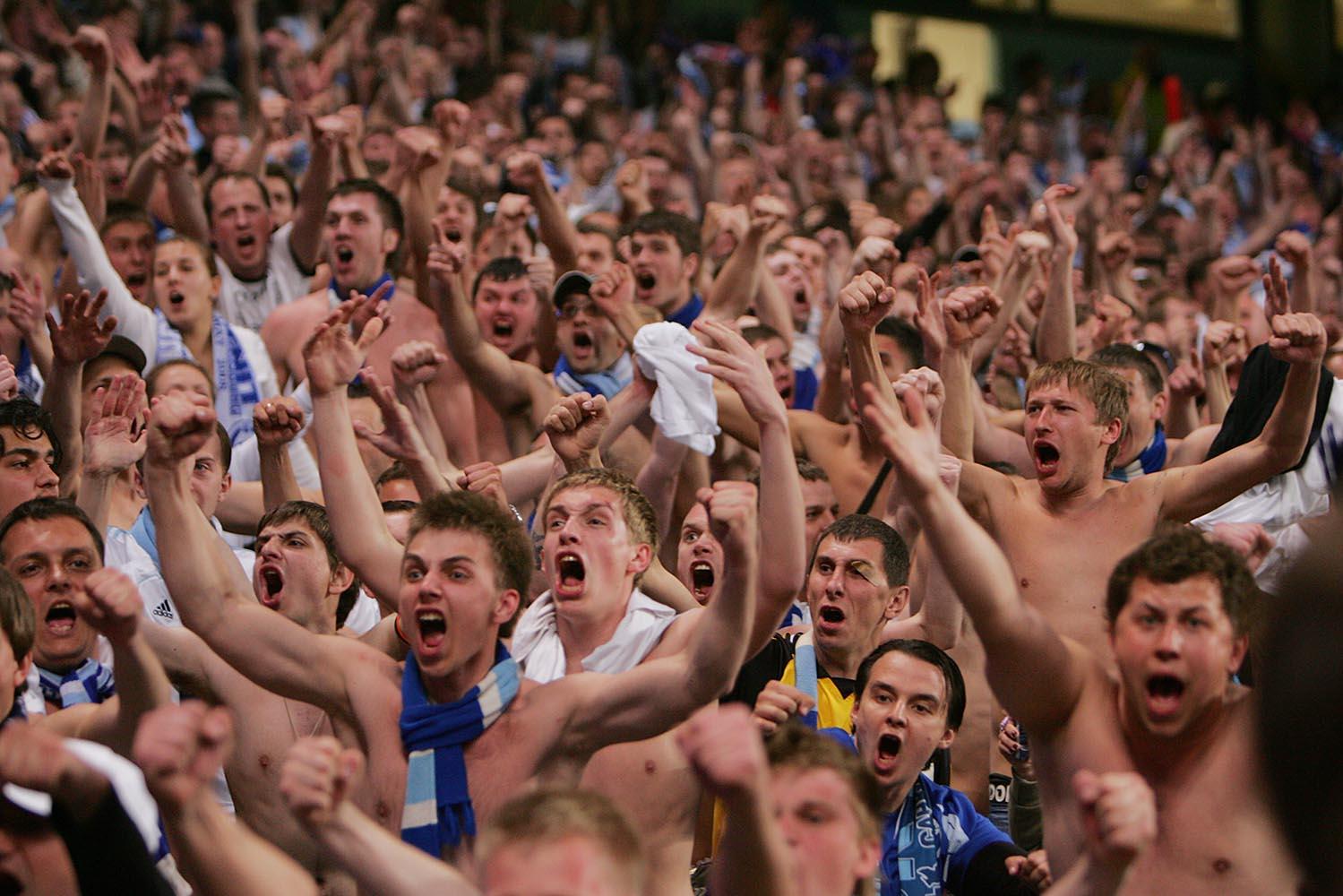FC Zenit St. Petersburg fans