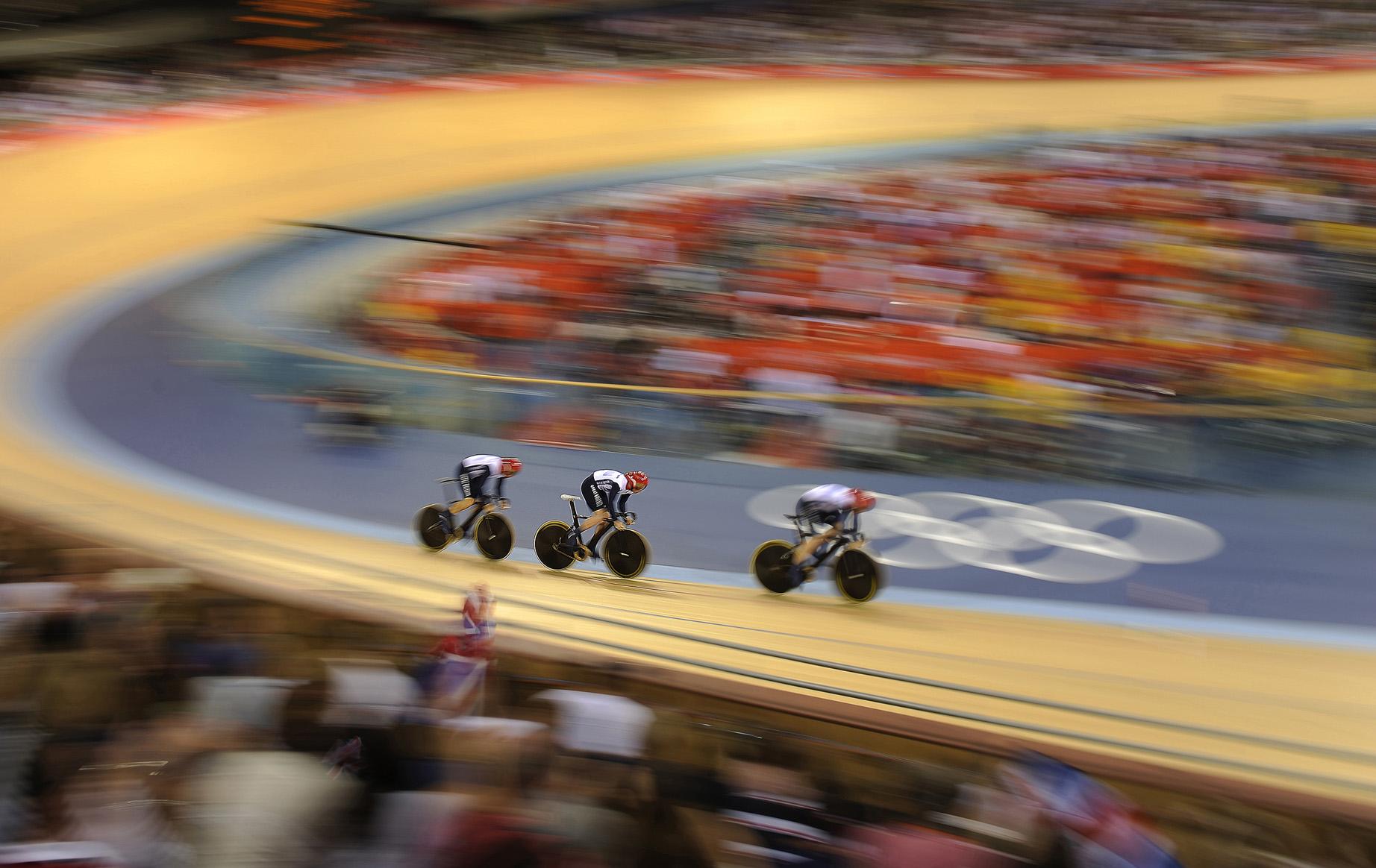 GB Men's Sprint Team - London 2012 Olympics