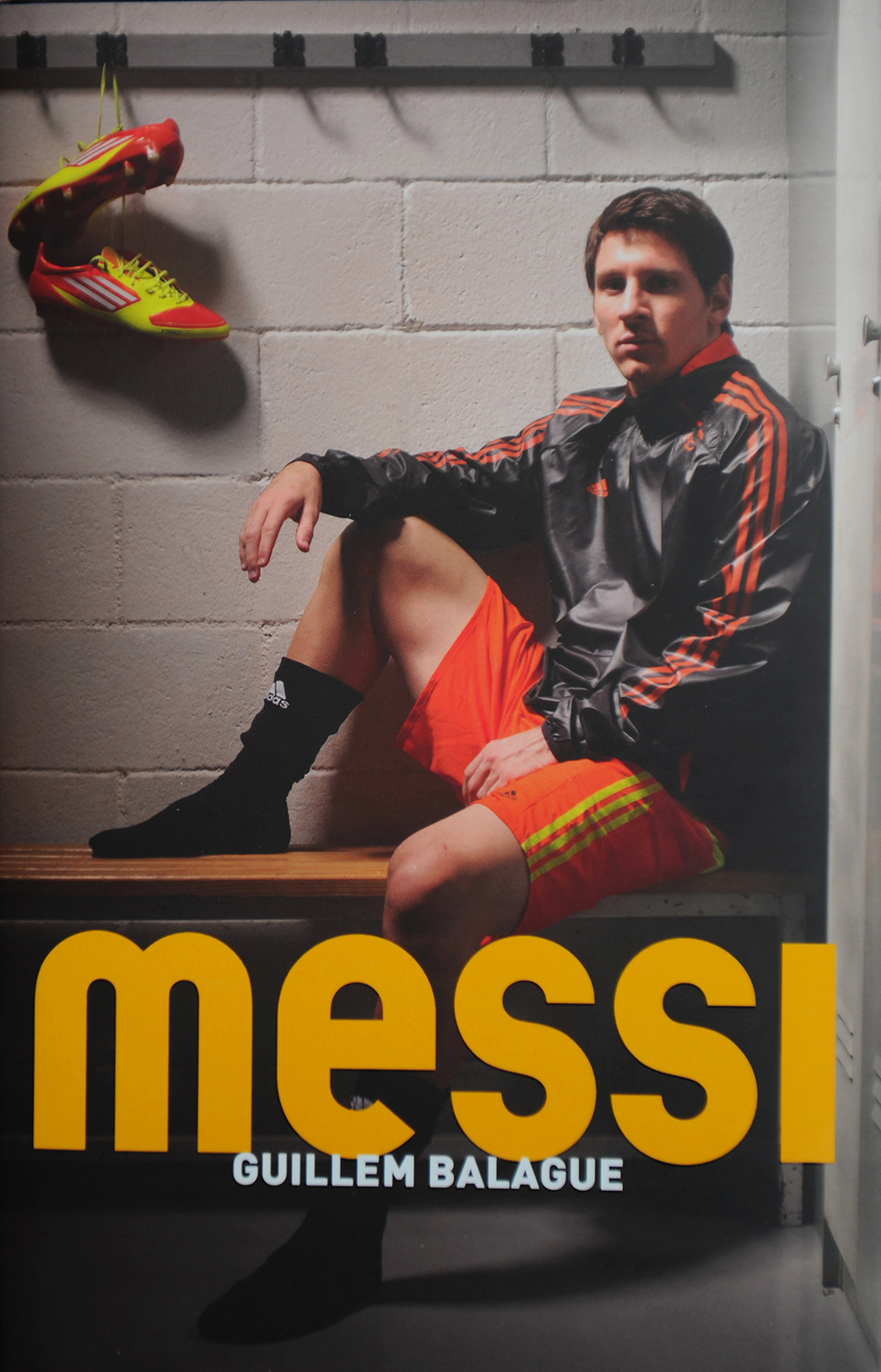 Lionel Messi for Orion Publishing